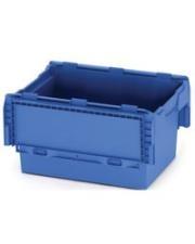Bac de rangement plastique facilitant le transport et le stockage de marchandises.