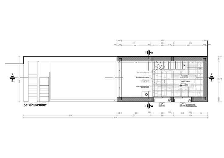 Small Weekend House 110 sqm in Polydrosos, Fokida, Greece, First Floor Plan - www.pzarch.gr
