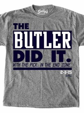 THE BUTLER DID IT t-shirts | nePatriotsLife.com - New England Patriots Fan Site, Blog, T-shirts #sb49 #doyourjob