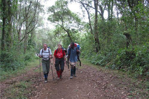 Mt Kilimanjaro Marangu Route - 8 day expedition