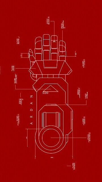 Ardan's guantlet blueprints