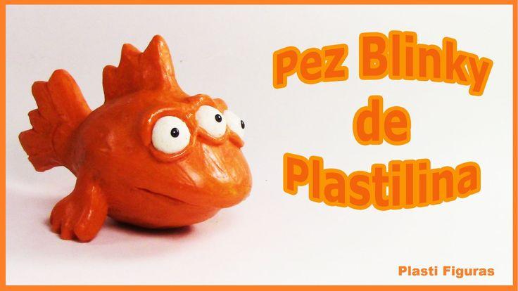 Como Hacer a Pez Blinky de Plastilina/ How To Make Blinky with Plasticin...
