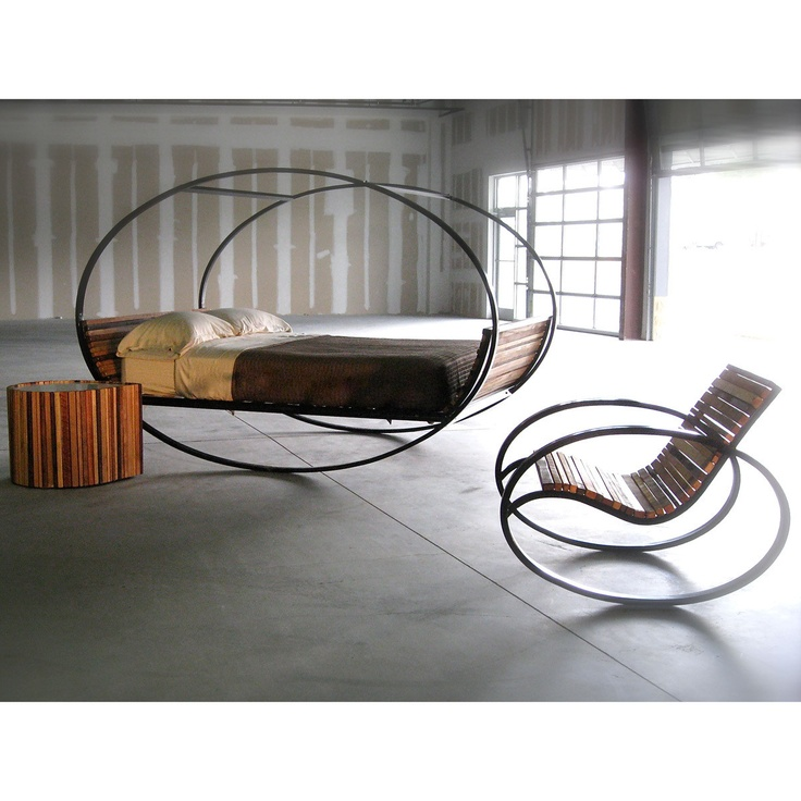 Mood Rocking Bed King Steel Interiors Inside Ideas Interiors design about Everything [magnanprojects.com]