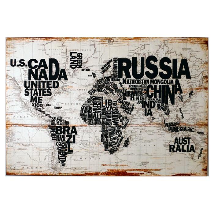 j'adooooooooooooooooore un planisphère avec le NOM des pays!!