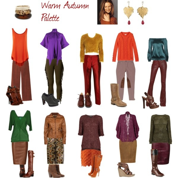 """""""Warm Autumn Palette"""" by expressingyourtruth on Polyvore"""