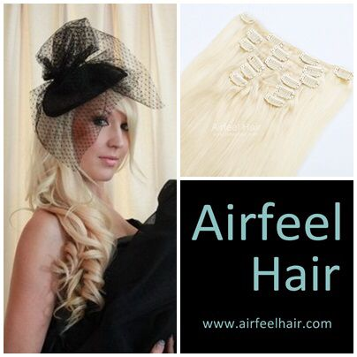 2 new year conpons: First order 10% OFF Free shipping up to USD500  7A Grade Virgin Human Hair Clip In Hair Extension online store http://www.airfeelhair.com/clip-in-hair-extensions
