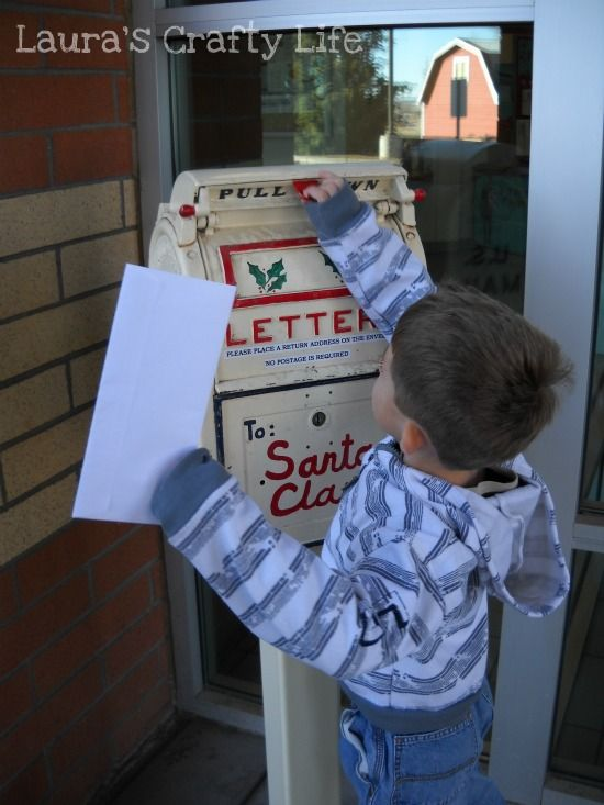 Letter to Santa and a Printable - Laura's Crafty Life