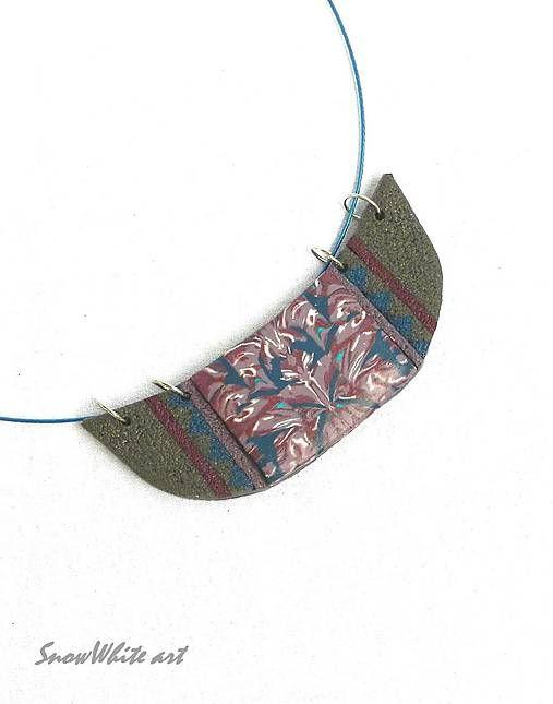 snehulienka333 / Náhrdelník s ornamentom