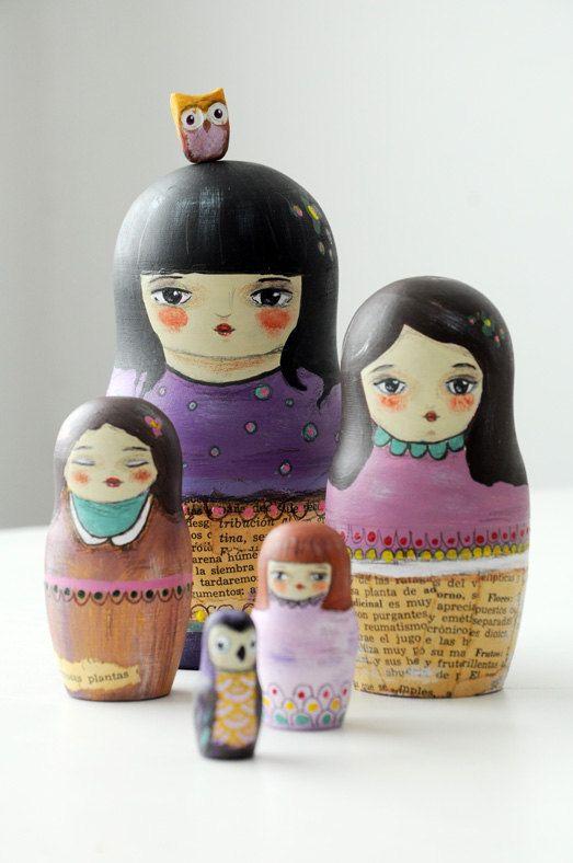 LOVE nesting dolls!