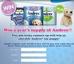 Free gift from Andrex - http://ratedfreestuff.co.uk/free-gift-from-andrex/