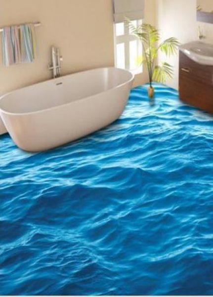 3D Bathroom Floors Design Ideas