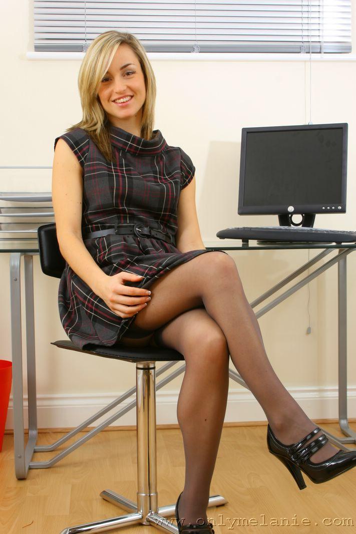 A entrevista secretaria follar la la en