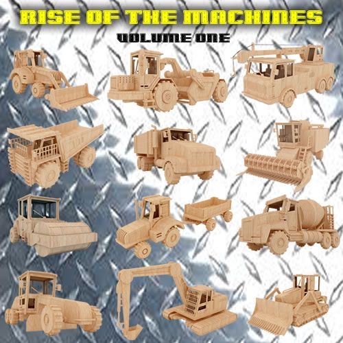 Rise of the Machines (volume one) - Heavy Machines   MakeCNC.com