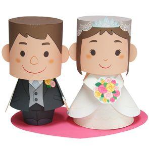 Free Printable Wedding Couple Paper Dolls