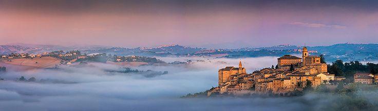 Montottone in the autumn mist by Sebastiano Del Gobbo on 500px