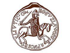 Святой Георгий в Западной Европе был небесным покровителем рыцарства, поэтому он стал покровителем как самого князя, так и его войска-дружины, а со временем изображение Святого Георгия становилось гербом князя и его государства. Очевидно, так возникли государственные символы княжества лютичей, а затем – Полоцкого княжества.