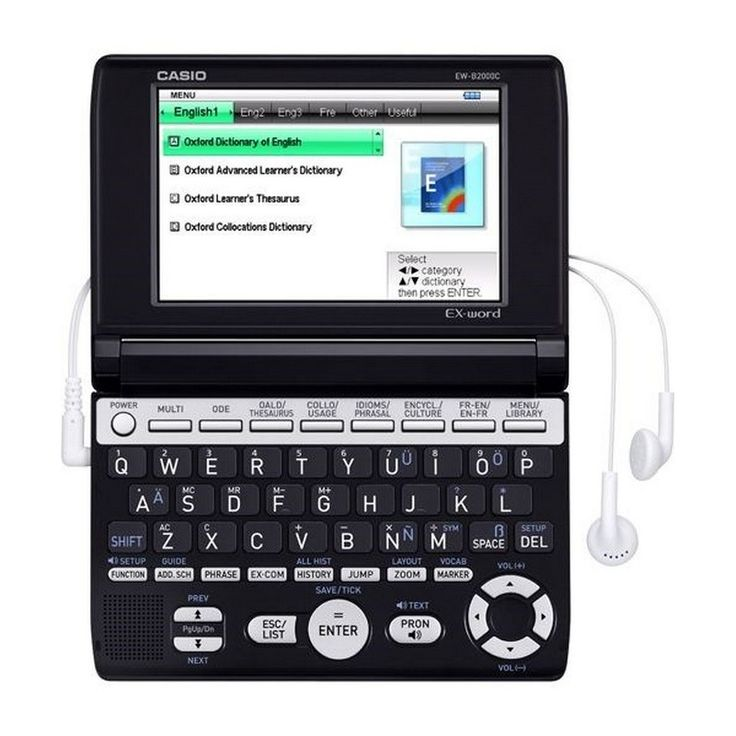 Buy #Casio #Electronic #Dictionary EW-B2000C Online at Best Price in India for Rs.5,695/-