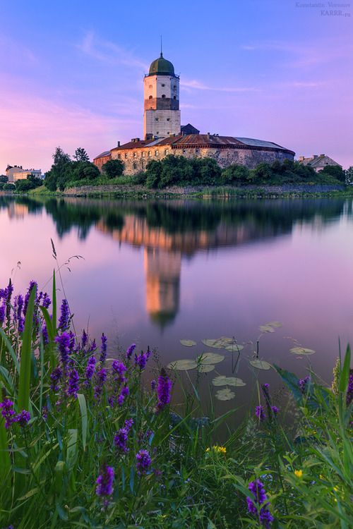 Vyborg Castle, Russia. #russia #castles #travel