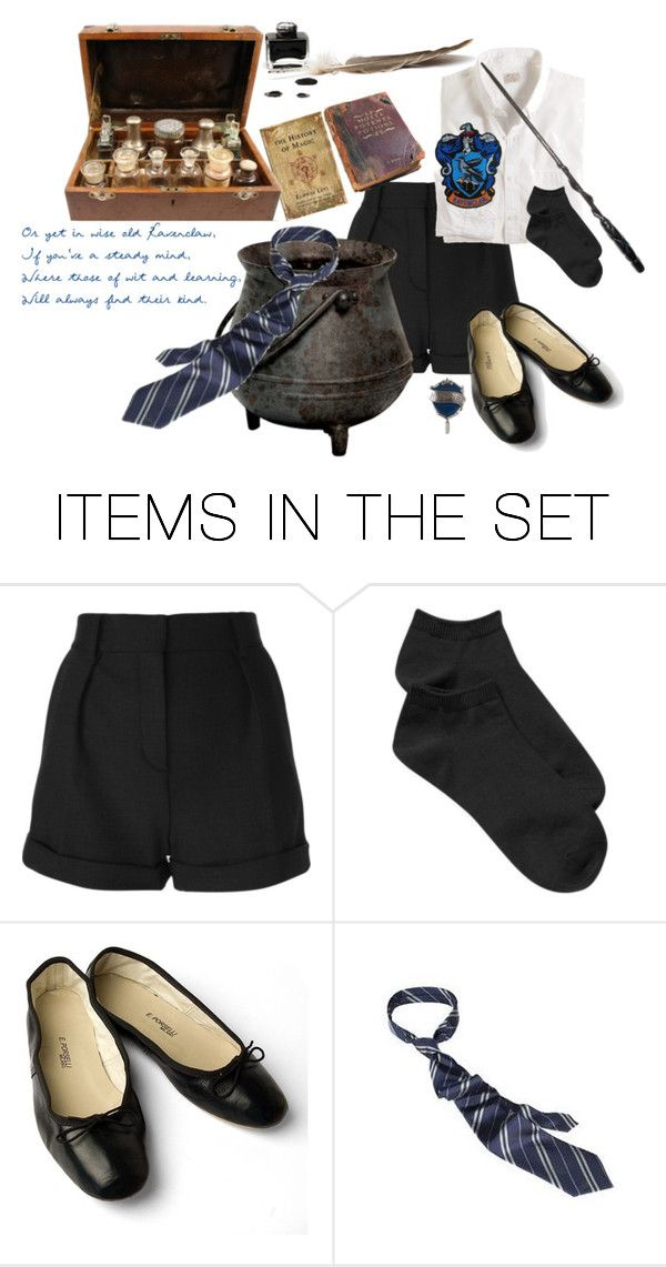 """Welcome to Hogwarts!"" by pennydreadfulness ❤ liked on Polyvore featuring art"