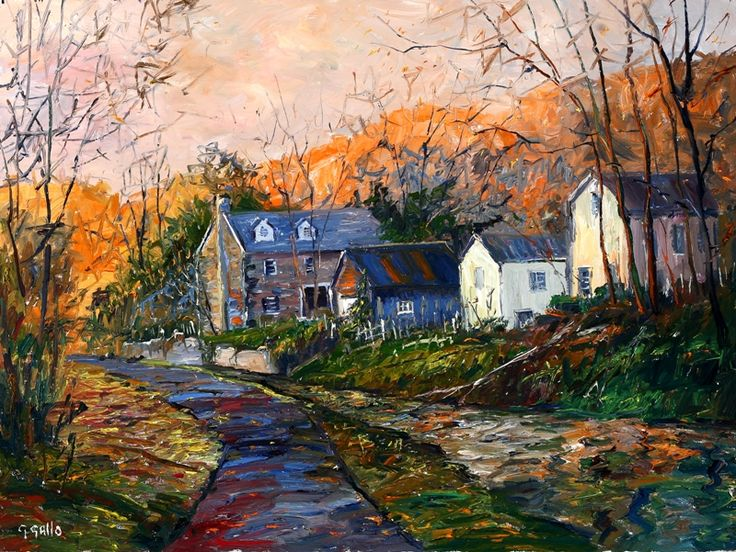 Along the Towpath - George Gallo