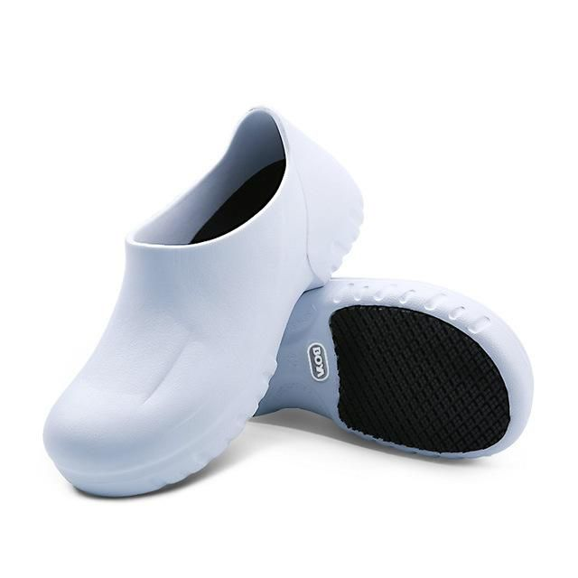 91a4c6e1c3e Men s Chef Shoes Kitchen Working Slippers Clogs