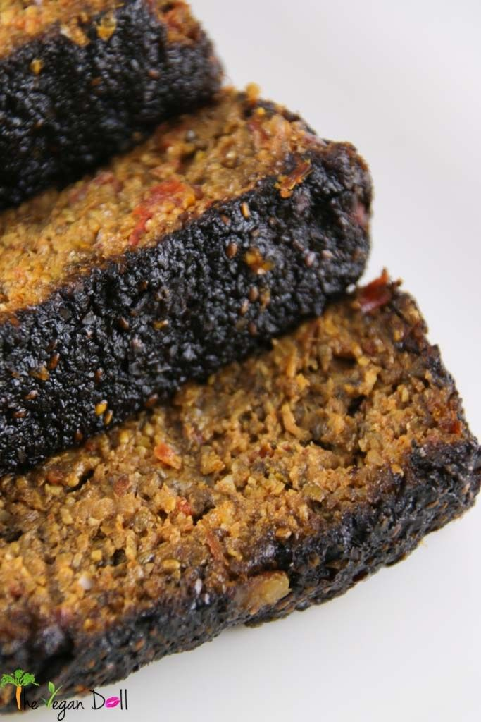 Raw Vegan nut loaf-2