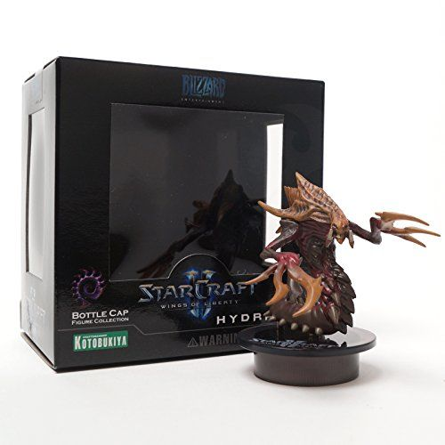 BUY NOW [STARCRAFT 2 KOTOBUKIYA] HYDRALISK (Zerg) Bottle Cap Figure Collection Miniature Three-layered package system safely protects the contents and brings you