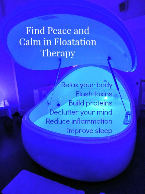 Floatation therapy to relieve stress, encourage relaxation, detox mind and body and build a better body. #floatationtherapy