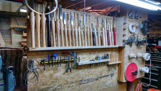 Organizing all of my lathe tools so when my new Jet lathe shows up im ready to go!