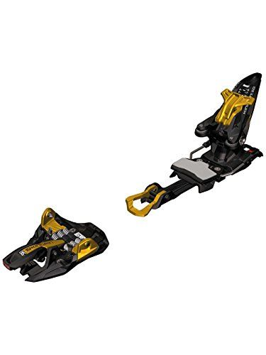 Marker Kingpin 10 Ski Binding with Brake Ski bindings Black/Gold w/ 75-100mm Brake
