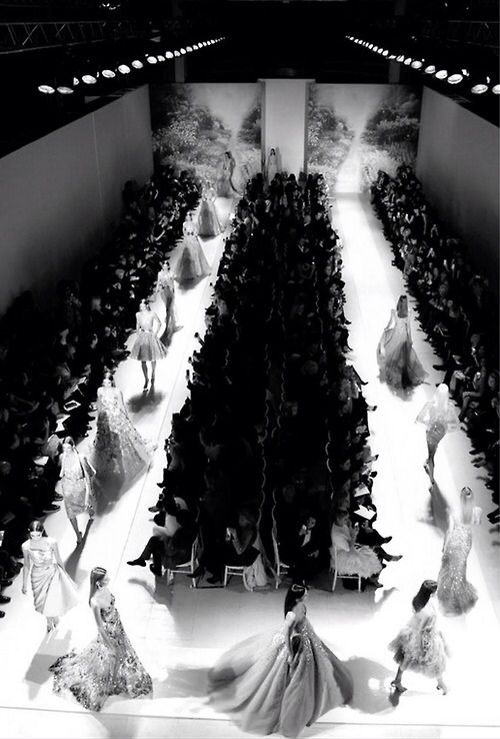 :attending a fashion show...my dream: