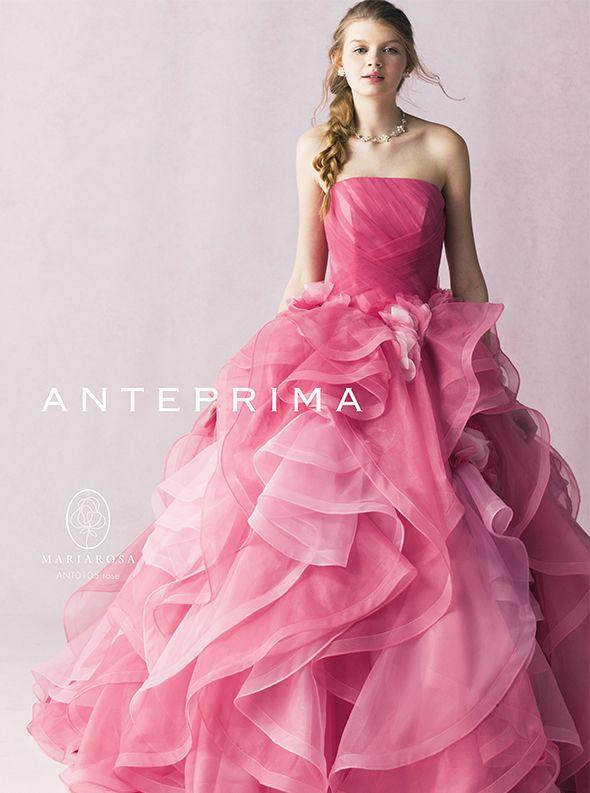 アクア・グラツィエがセレクトした、ANTEPRIMA(アンテプリマ)のウェディングドレス、ANT0105をご紹介いたします。