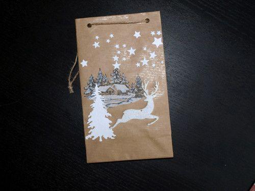 Darovací taška vánoční 3