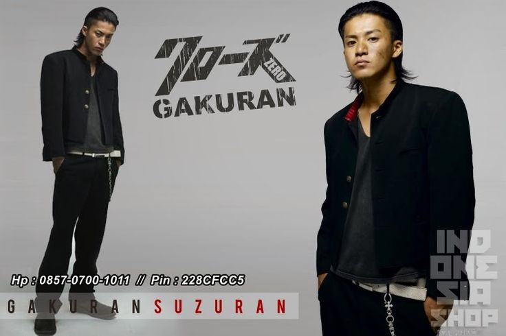 Crows Explode Fashion: Jual jaket Takiya Genji - Yogyakarta