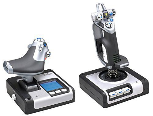 Saitek X52 Hotas Flight Controller System Joystick (PC)