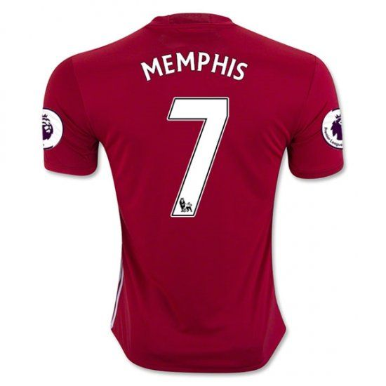 16-17 Manchester United Football Shirt Home MEMPHIS #7 Cheap Replica Jersey [G212]