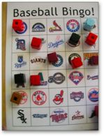 Baseball Bingo. Additional great ideas for teachers.