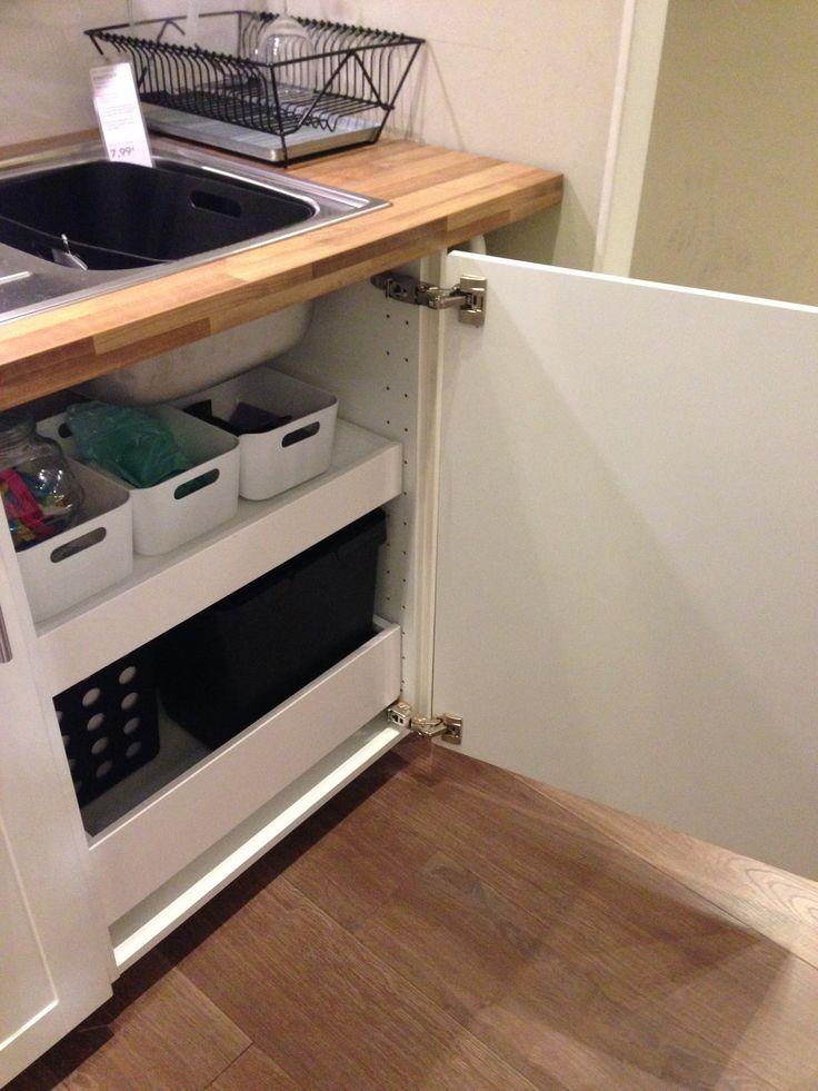 17 mejores im genes sobre cocina basura en pinterest - Cubo basura puerta ...