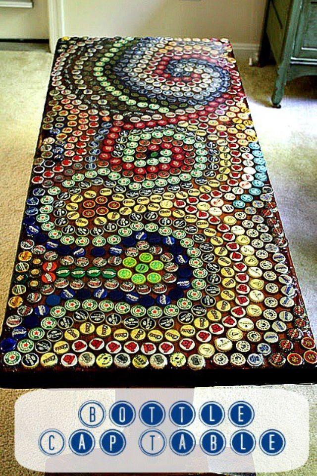 Bottle caps = art