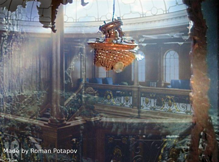 Titanic underwater <3 ********