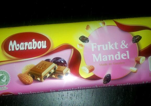 Marabou Chocolate! Best chocolate in the world!