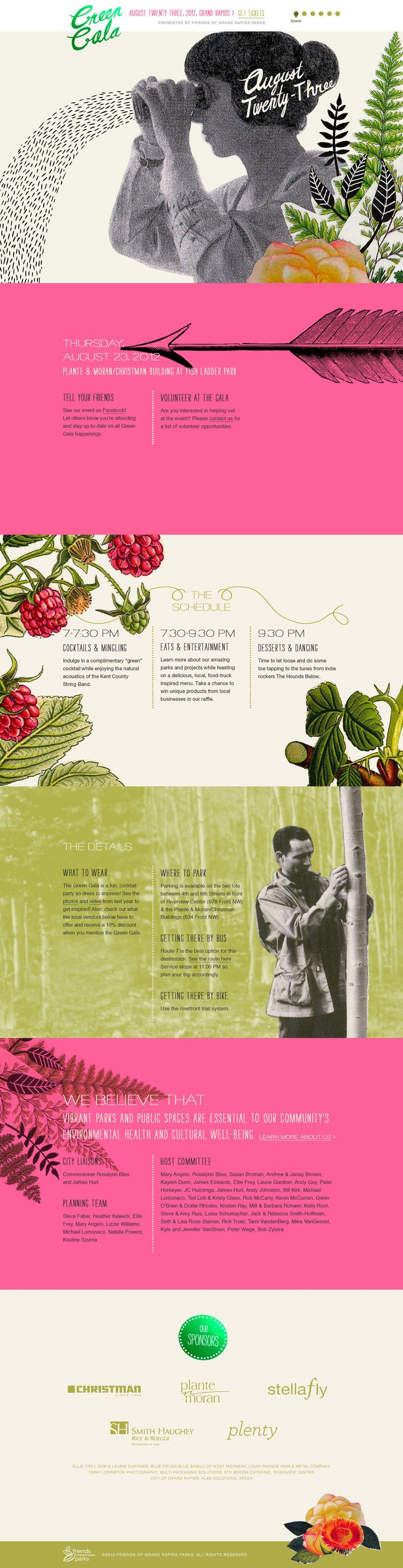 Unique Web Design, Green Cala #WebDesign #Design