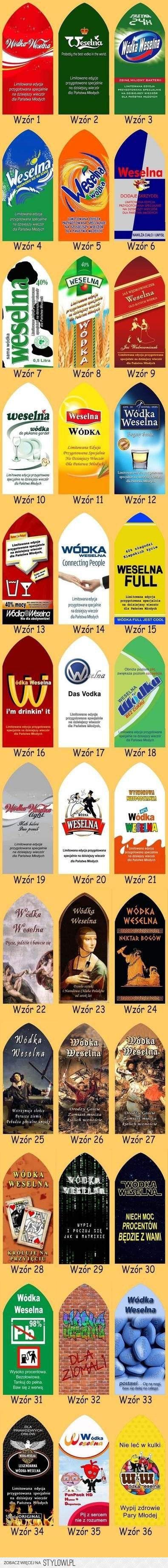 Wódka - KWEJK.pl na Stylowi.pl