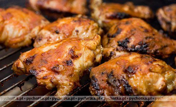 Kurczak z grilla mocno aromatyczny