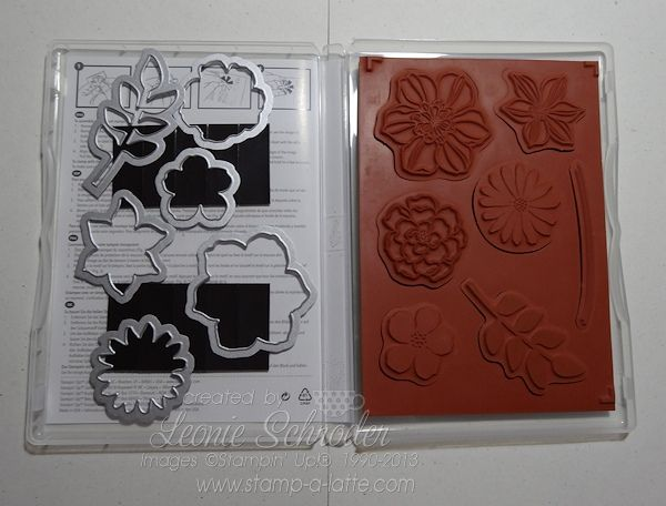 Keep stamps and the matching framelits together - use adhesive magnets and pop them on the inside of your stamp case with the matching stamps.