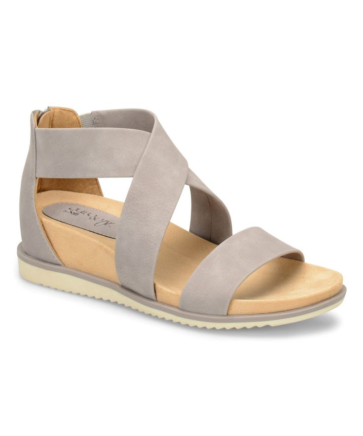 Take a look at this Eürosoft by Söfft Gray Landry Sandal today!