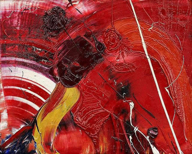 Exposition Art Blog: Action painting - Gutai Group Kazuo Shiraga