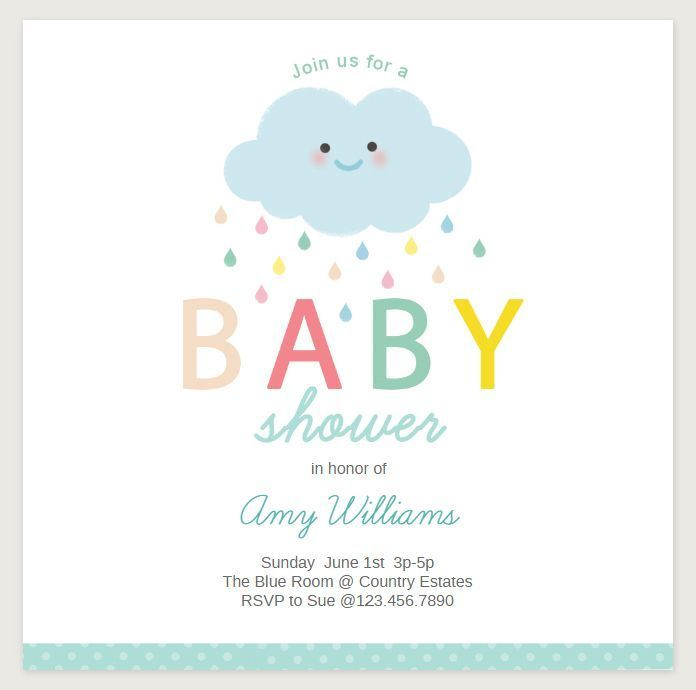 56 Best Baby Shower Invitation Templates Images On Pinterest