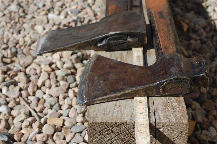Wetterlings Storvik Klyvyxa + Handsmidd Svensk yxa - 2st Superyxor