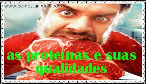 http://bemestar-mais.com/as-proteinas-e-suas-qualidades você vai saber como elas agem em nosso corpo, onde são encontradas as proteínas,em quais alimentos, oque é necessário para encontrar as proteínas essenciais as não essências,quais são os alimentos ricos em proteínas e muito mais. O consumo de proteínas é uma das maiores preocupações de uma pessoa que pratica atividades físicas -ver mais...http://bemestar-mais.com/as-proteinas-e-suas-qualidades